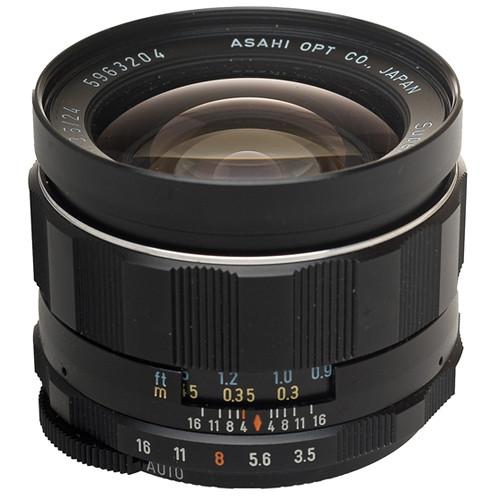 Pentax Wide Angle 24mm f/3.5 Super Multi-Coated Takumar Univeral M42 Screw Mount Lens