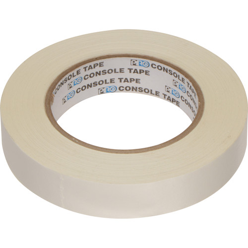 "Permacel/Shurtape Paper Console Tape - 1"" x 60 yds (White)"