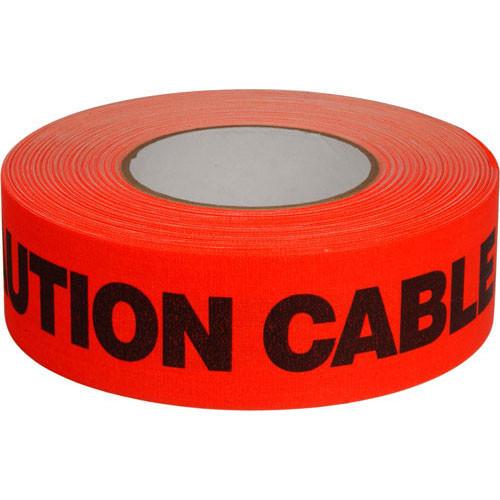 "Permacel/Shurtape Permacel / Shurtape Caution Tape - Fluorescent Orange 2"" x 50 yd (45.7 m)"