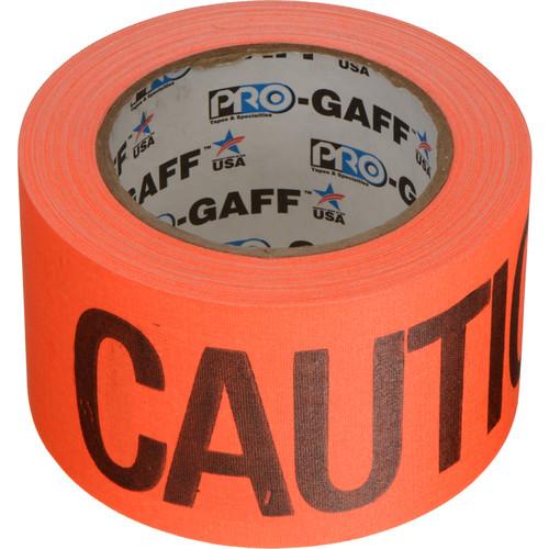 "Permacel/Shurtape Permacel / Shurtape Caution Tape - Fluorescent Orange 3"" x 25 yd' (22.8 m)"