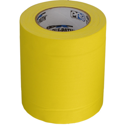 "Permacel/Shurtape Cable Path Tape - 6"" x 30 Yards (Yellow)"