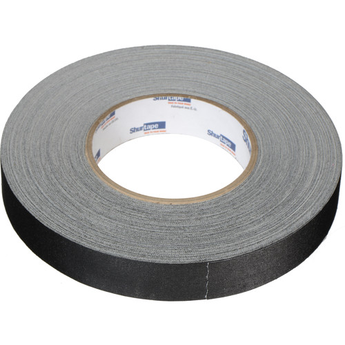 "Permacel/Shurtape P-672 Professional Gaffer Tape - 1.0"" x 50 Yds (Black)"