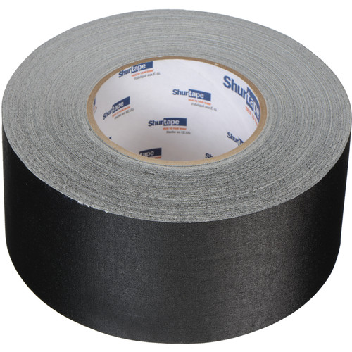 Permacel/Shurtape P-672 Professional Gaffer Tape - 3.0 x 50 Yds (Black)