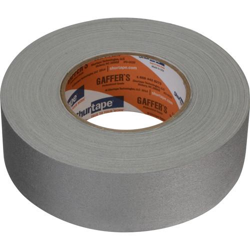 "Permacel/Shurtape P-672 Professional Gaffer Tape - 2.0"" x 50 Yds (Gray)"