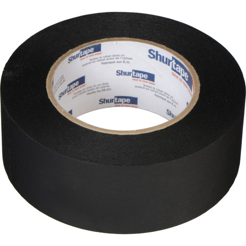 "Permacel/Shurtape Pro Photo Masking Tape - Black (2"" x 60 yd)"