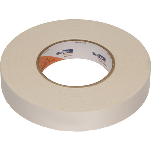 "Permacel/Shurtape P-672 Professional Gaffer Tape - 1.0"" x 50 Yds (White)"