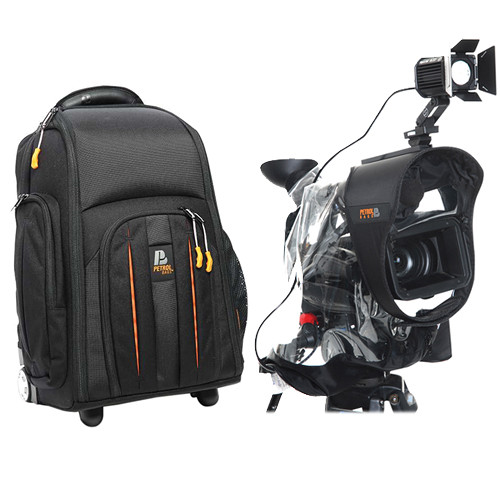 Petrol PC302K2 Deca Camera Rollpak Kit with PR410 Deca Transparent Raincover