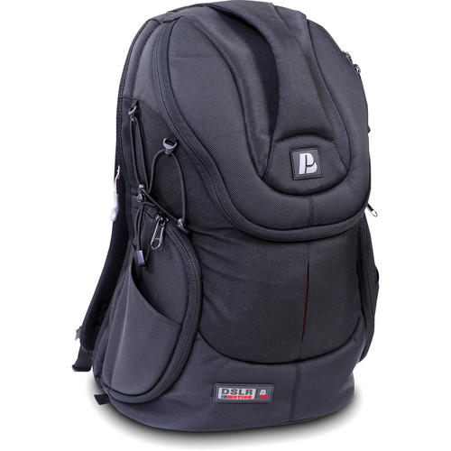 Petrol PD331 Digiback D-SLR Backpack for D-SLR Camera with Attached Lens
