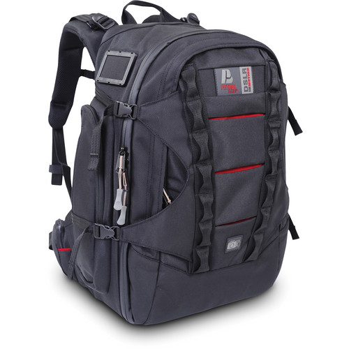 Petrol PD332 D-SLR Cam 'n Go Backpack for D-SLR Camera with Attached Lens