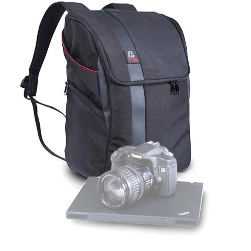 Petrol PD334 D-SLR/Personal Computer Backpack (Black)