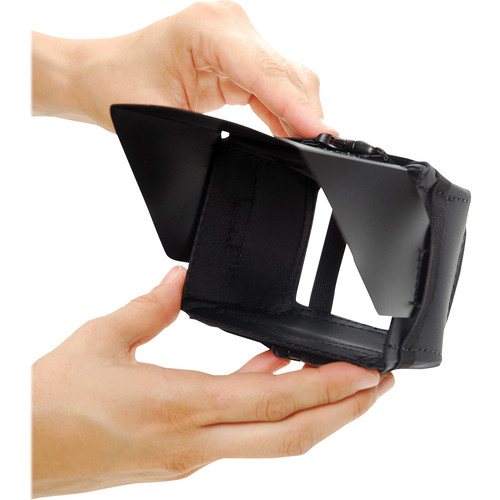 """Petrol PMH-1 Mini Hood - for Small Camcorders with 2.5"""" LCD Monitors"""