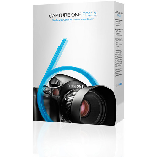 Phase One Capture One Pro 6 (Upgrade 30 Seats from 5 Pro to Pro 6, Software Download)