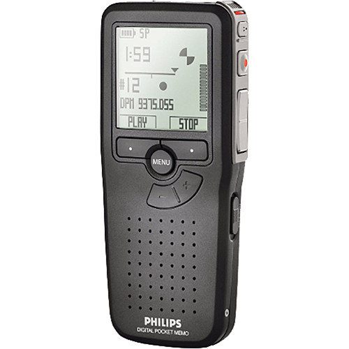 Philips Pocket Memo Digital Dictation Recorder with SpeechExec Software