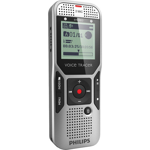 Philips 2GB Voice Tracer 1000 Digital Recorder