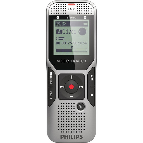 Philips 2GB Voice Tracer 1500 Digital Recorder with Dragon NaturallySpeaking DVR Software