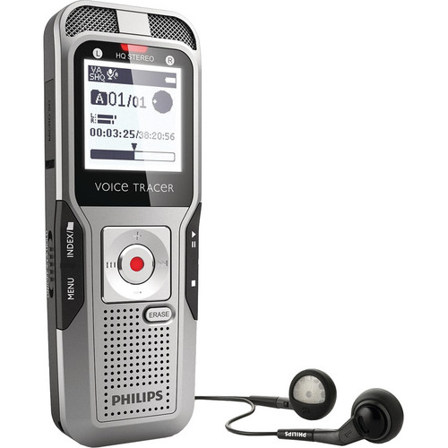 Philips 2GB Voice Tracer 3000 Digital Recorder