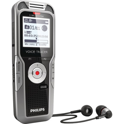 Philips 4GB Voice Tracer 5000 Digital Recorder