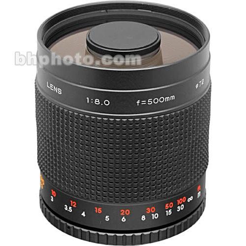 Phoenix 500mm f/8.0 Mirror (Reflex) Lens