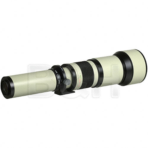 Phoenix 650-1300mm f/8-16 Manual Focus Lens (T-Mount Required)
