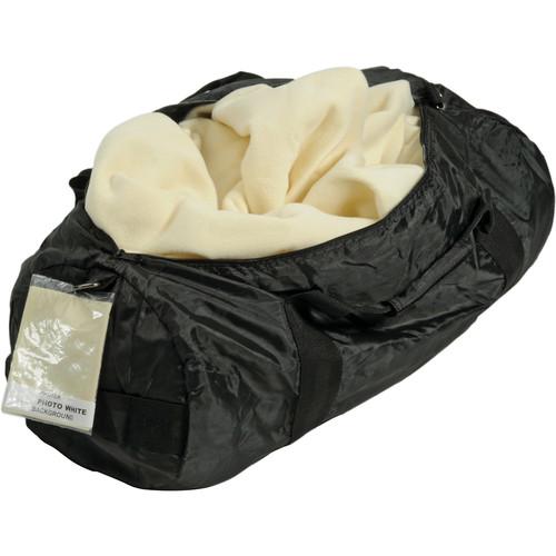 Photek B-6020  Velour Fabric Background-in-a-Bag - 6x7' (Photo White)