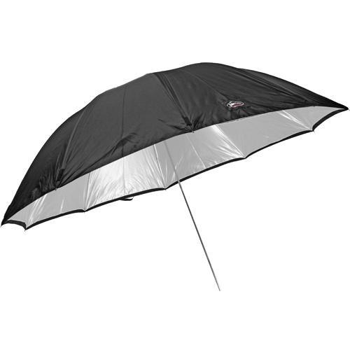 "Photek GoodLighter Umbrella with Permanent  7mm Shaft, Silver - 60"" (1.5m)"