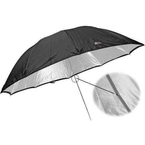 "Photek GoodLighter Umbrella with Removable  8mm Shaft, Silver - 60"" (1.5m)"
