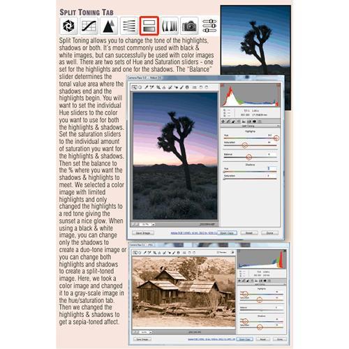 PhotoBert CheatSheet for Adobe Camera Raw (ACR) V5