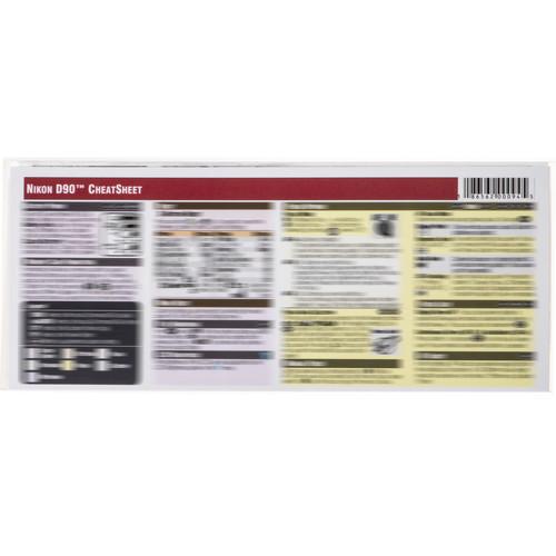 PhotoBert Cheat Sheet for the Nikon D90 Digital SLR Camera