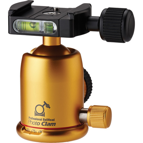 Photo Clam Pro 30NS Ball Head (Gold)