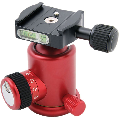 Photo Clam PC-33NS Ball Head (Red)