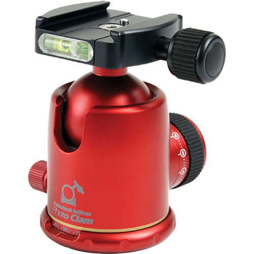 Photo Clam PC-44NS Ball Head (Red)