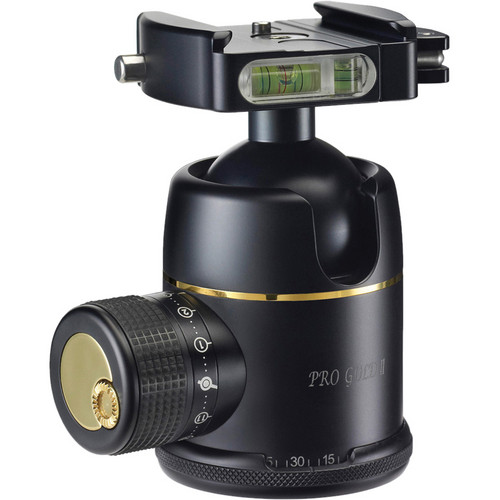 Photo Clam Pro Gold II Easy QR Ball Head