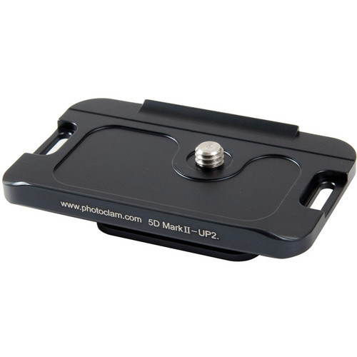 Photo Clam PC-5DMARKII-UP2 Camera Plate for Canon 5D Mark II DSLR Camera