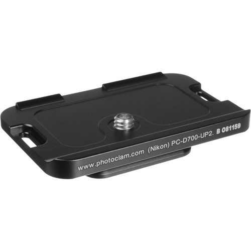 Photo Clam PC-700D-UP2 Arca-Type Quick Release Plate for Nikon D700