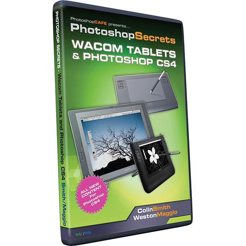 PhotoshopCAFE CD-Rom: Wacom Tablets and Photoshop CS4 by Colin Smith and Weston Maggio