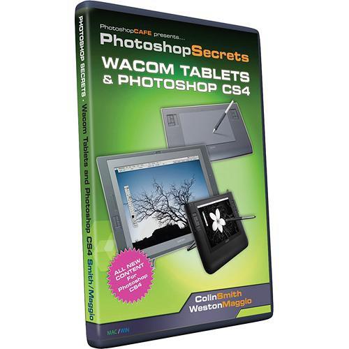 PhotoshopCAFE CD-Rom: Wacom Tablets and Photoshop CS4 by Colin Smith and Weston Maggio