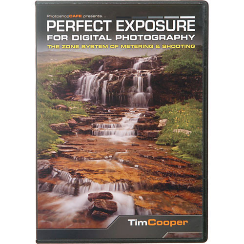 PhotoshopCAFE DVD-ROM: Perfect Exposure for Digital Photography: The Zone System of Metering & Shooting