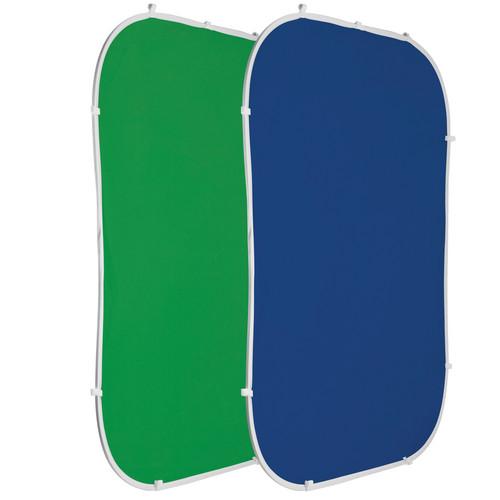 Photoflex Flexdrop Reversible Chromakey Blue/Green - 5x7'