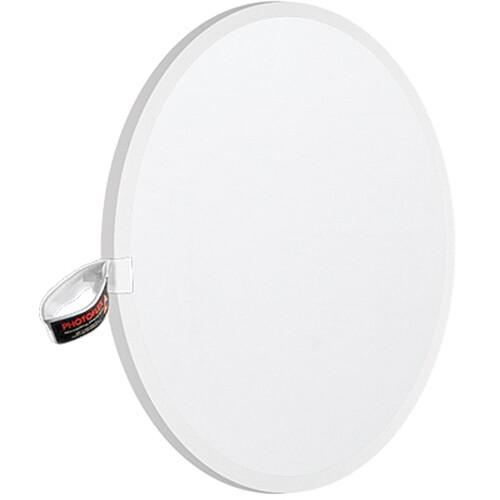 "Photoflex LiteDisc Diffuser Circular Reflector, White Translucent, 22"" (56cm)"