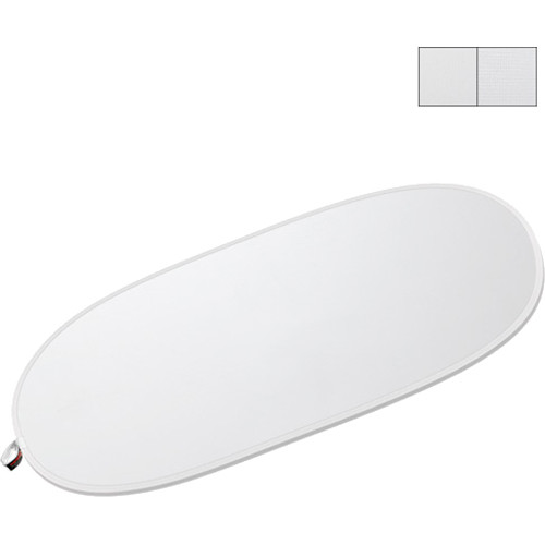 "Photoflex LiteDisc Translucent Collapsible Oval Diffuser (41 x 74"")"