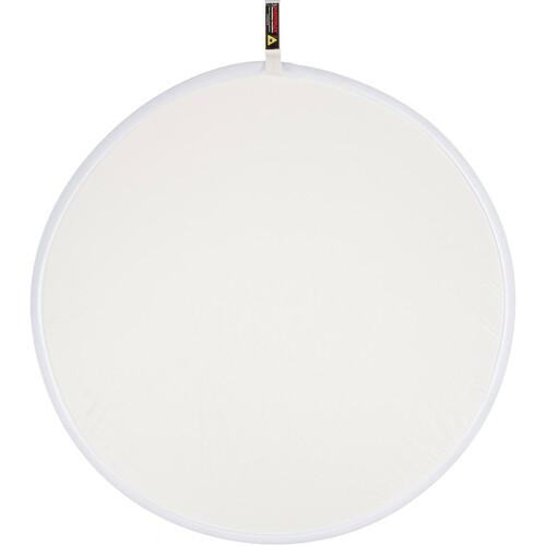 "Photoflex LiteDisc Diffuser Circular Reflector, White Translucent, 42""  (107cm)"