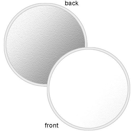 "Photoflex LiteDisc White/Silver Collapsible Circular Reflector (22"")"