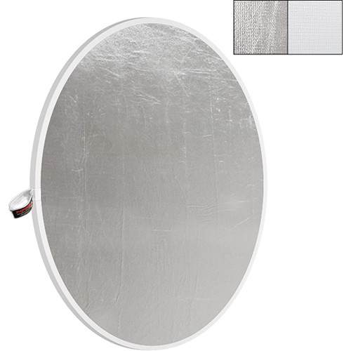 "Photoflex LiteDisc White/Silver Collapsible Circular Reflector (42"")"