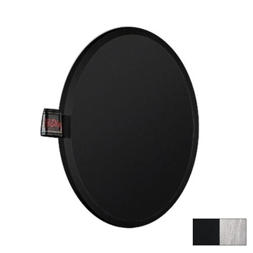 "Photoflex LiteDisc Circular Reflector, Black/Silver, 12"" (30.5cm)"
