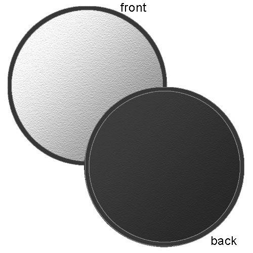 "Photoflex LiteDisc Silver/Black Collapsible Circular Reflector (42"")"