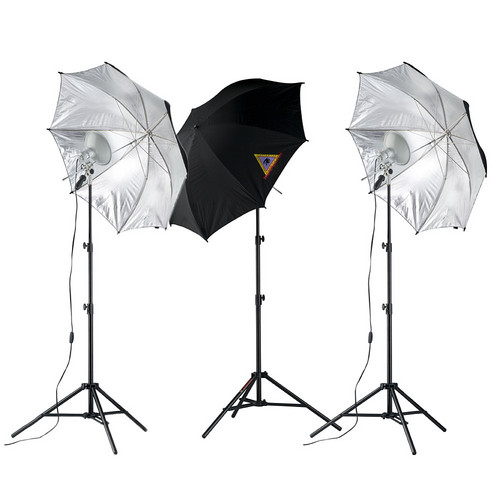 Photoflex First Studio Three Light Portrait Kit (120V AC)