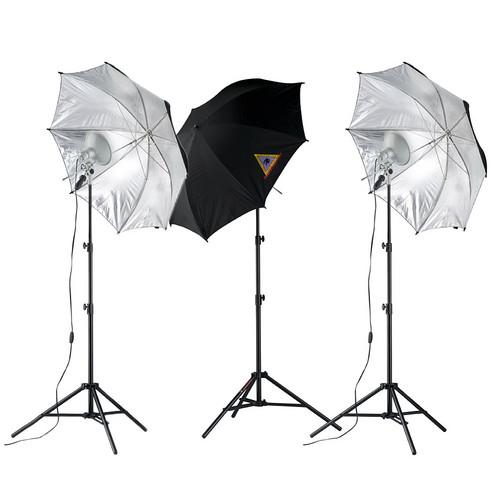Photoflex First Studio Three Light Portrait Kit (120V AC)