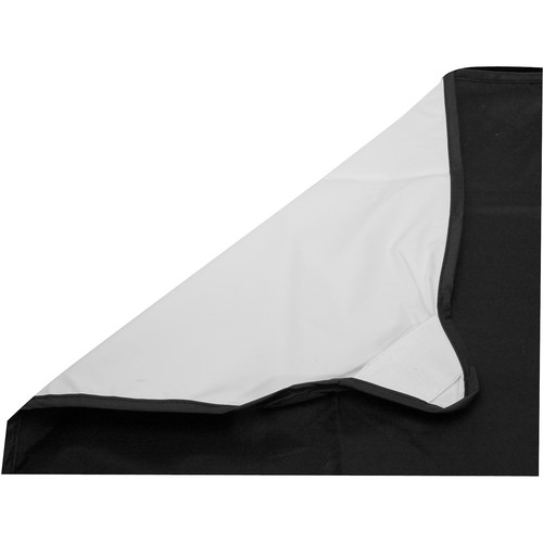 "Photoflex Fabric for LitePanel Frame, White/Black (39x39"", 1x1m)"