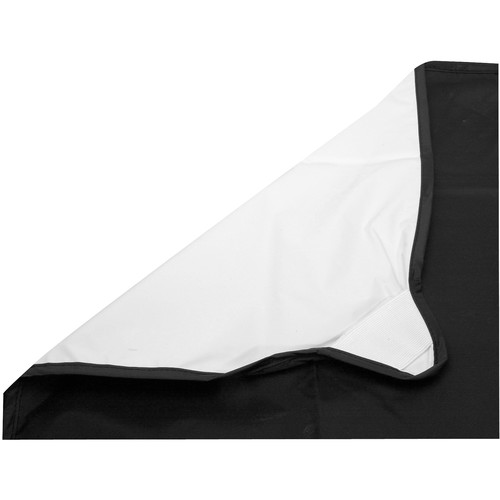 "Photoflex Fabric for LitePanel Frame, White/Black (77x77"", 1.9x1.9m)"
