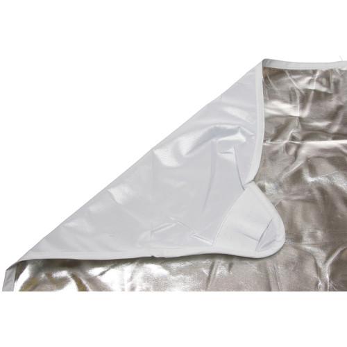 "Photoflex LitePanel White/Silver Fabric Reflector (77 x 77"")"